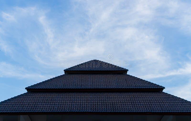 Ciel et toit photo libre de droits