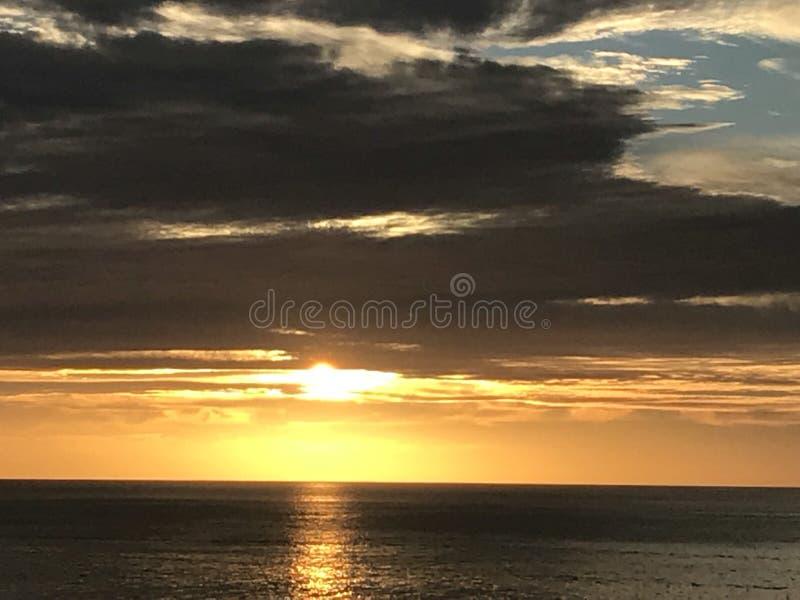 Ciel magique de Los Cabos Mexique images libres de droits