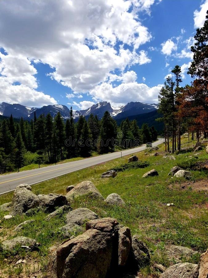 Ciel magnifique le Colorado image libre de droits