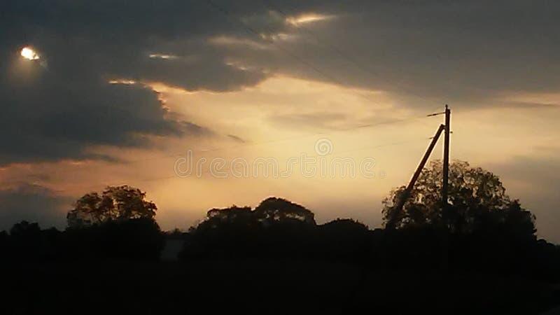 Ciel merveilleux ! photo libre de droits