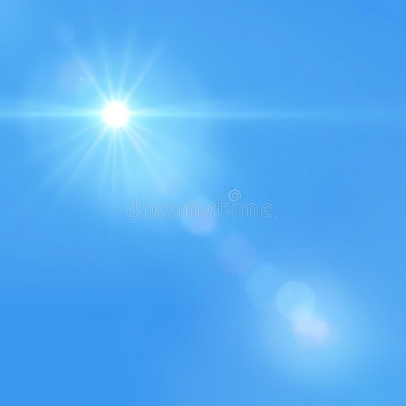 Ciel mou bleu photo libre de droits