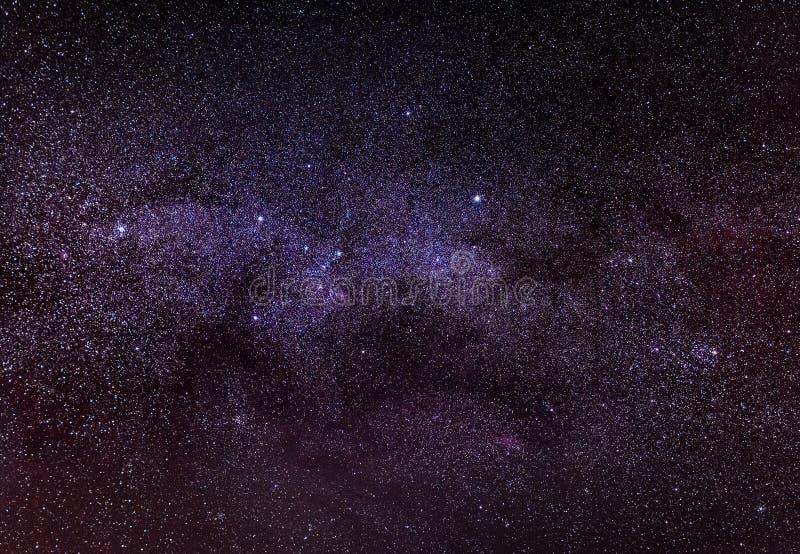 Ciel nocturne avec des étoiles photographie stock libre de droits
