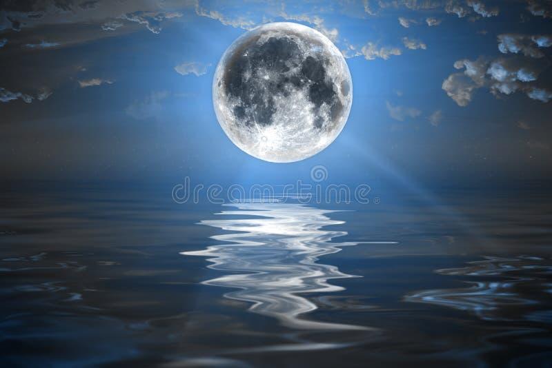Ciel nocturne de milieux image libre de droits