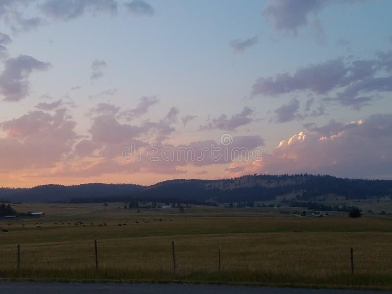 Ciel nocturne 1 du Montana image stock