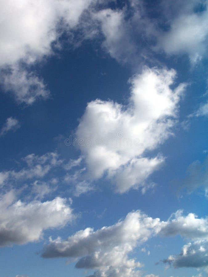 Ciel nuageux images libres de droits