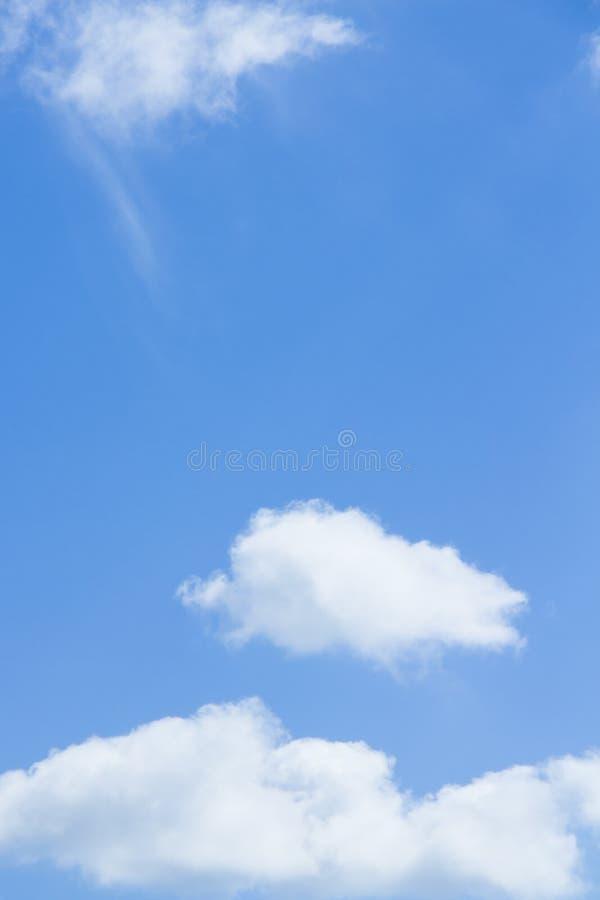Ciel nuageux de matin image libre de droits