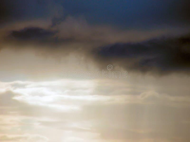 Ciel orageux photographie stock libre de droits