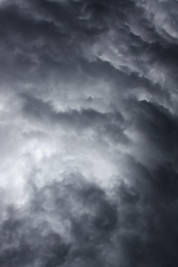 Ciel orageux excessif photos libres de droits
