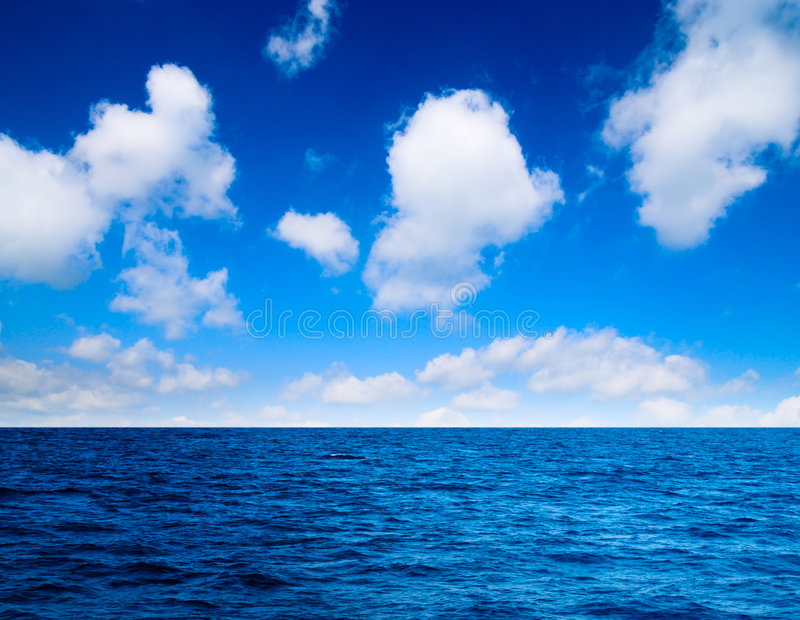 Download Ciel parfait d'océan image stock. Image du prévision, horizon - 8665163