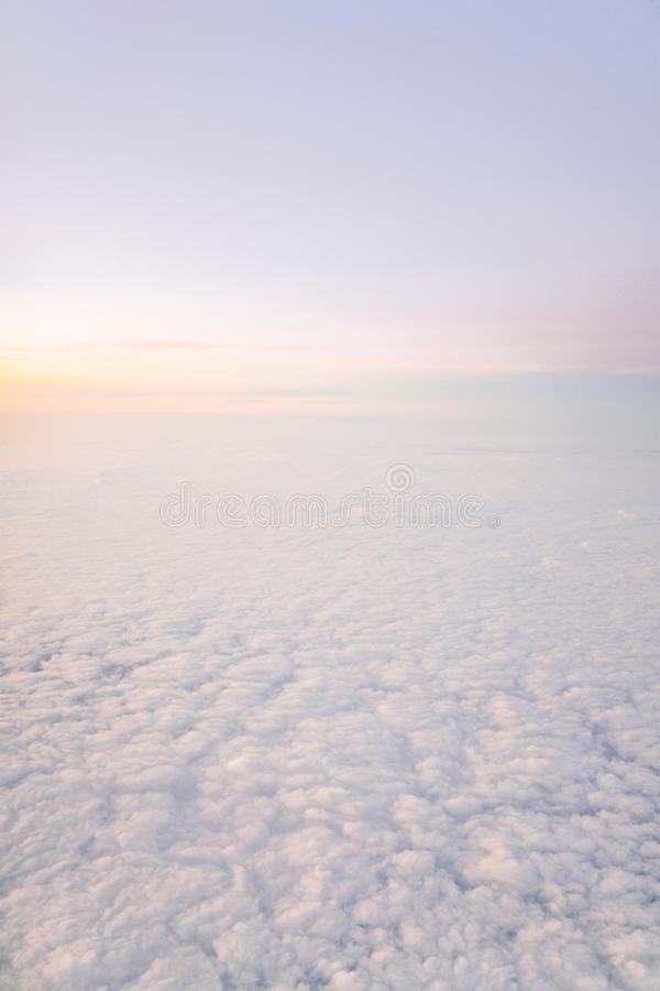 Ciel rêveur image stock
