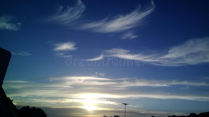 Ciel rêveur images libres de droits