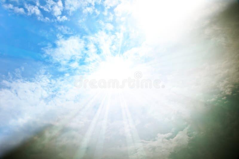 Ciel séparé image libre de droits