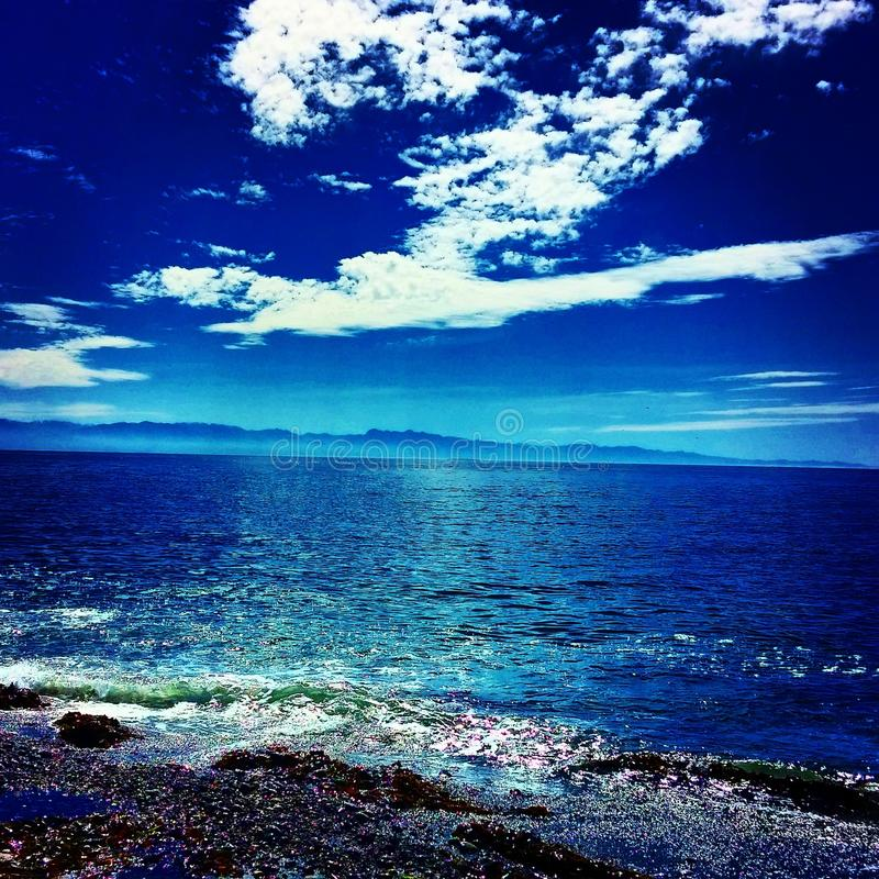 Cieli blu fotografie stock