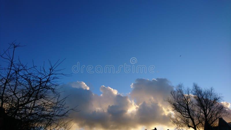 Cieli di Cloudly fotografia stock