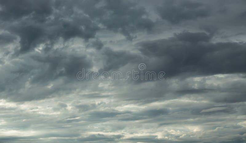 Cieli tempestosi fotografia stock