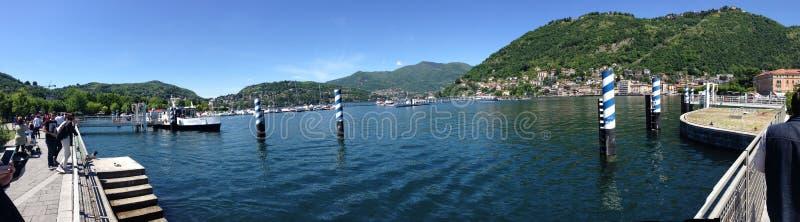 Cielo Πόρτο giorno λιμνών Como Lago στοκ φωτογραφία με δικαίωμα ελεύθερης χρήσης