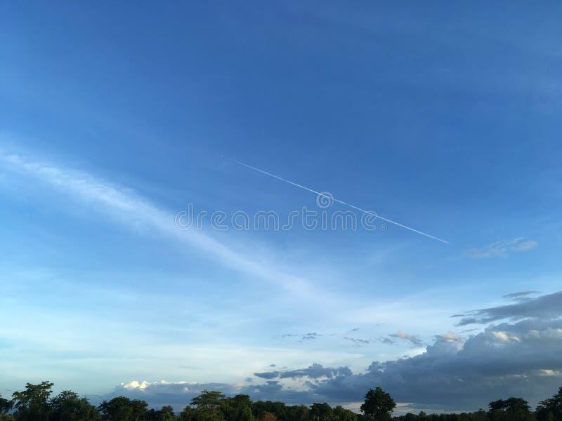 cielo fotografie stock