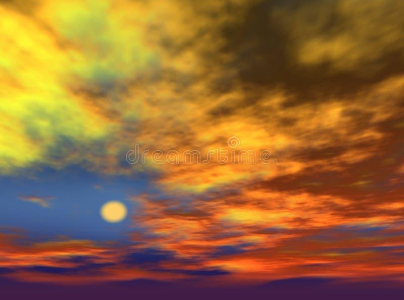 Cielo illustrazione vettoriale