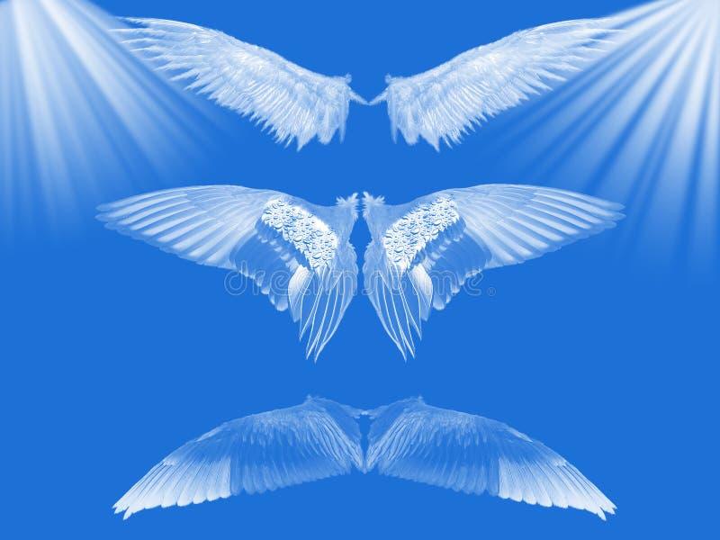 Cielo azul. ilustración del vector
