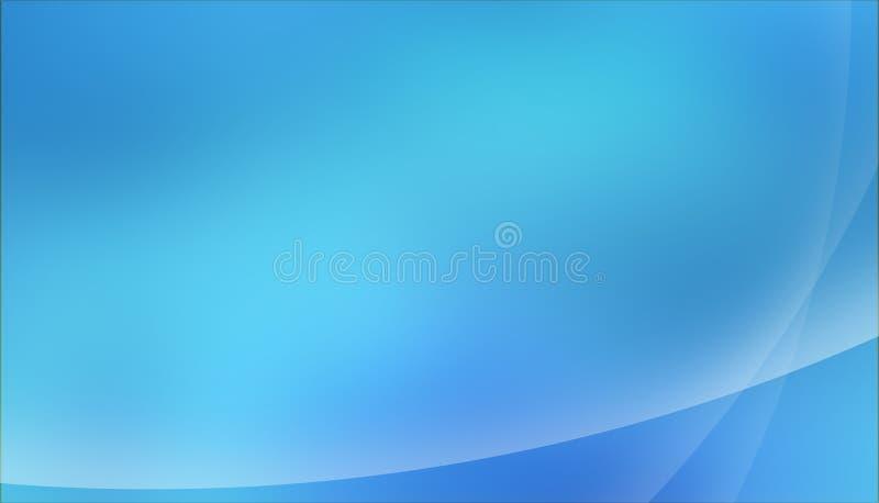 Cielo azul de océano del fondo fotografía de archivo