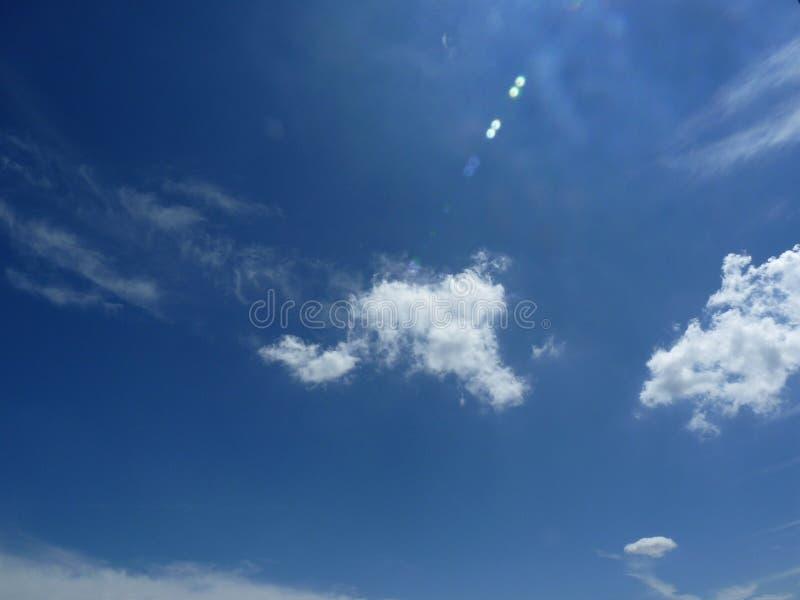 Cielo azul del ocio foto de archivo libre de regalías