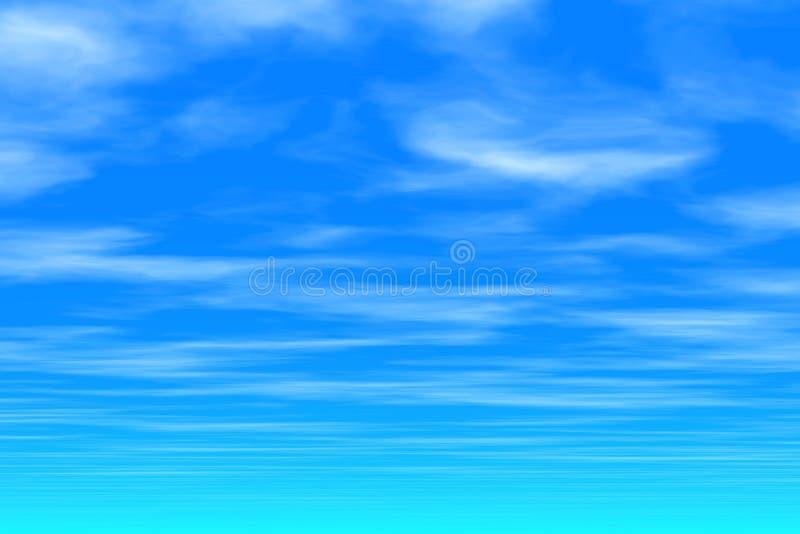 Cielo azul - nubes imagen de archivo libre de regalías
