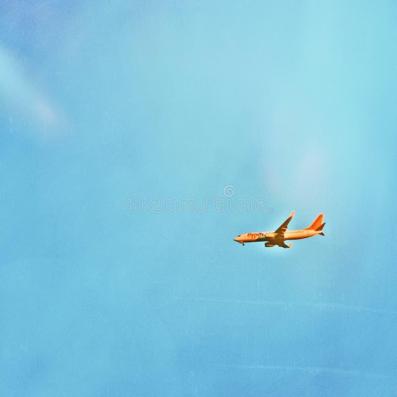 Cielo azul pegasus foto de archivo libre de regalías
