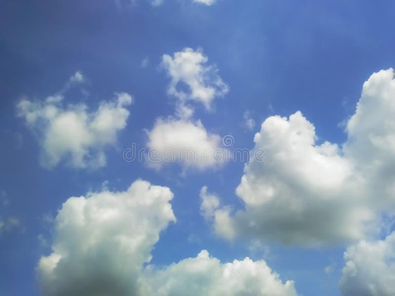 Cielo azul vacío imagen de archivo