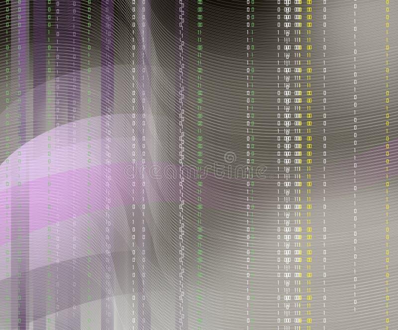Cielo binario de la gota fotografía de archivo