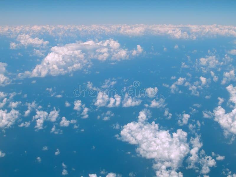 Cielo Blu 2 Fotografia Stock