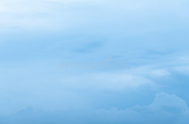 Cielo blu di Cloudscape e nuvoloso fotografia stock libera da diritti
