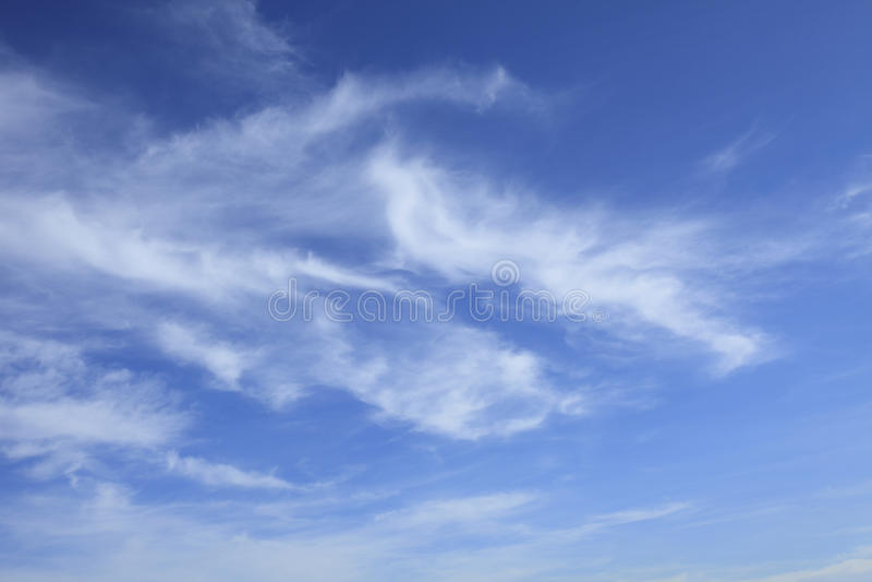 Cielo blu e nubi immagini stock libere da diritti