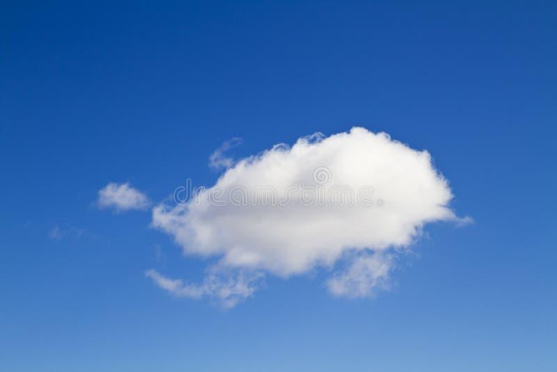 Cielo blu, priorità bassa astratta fotografia stock