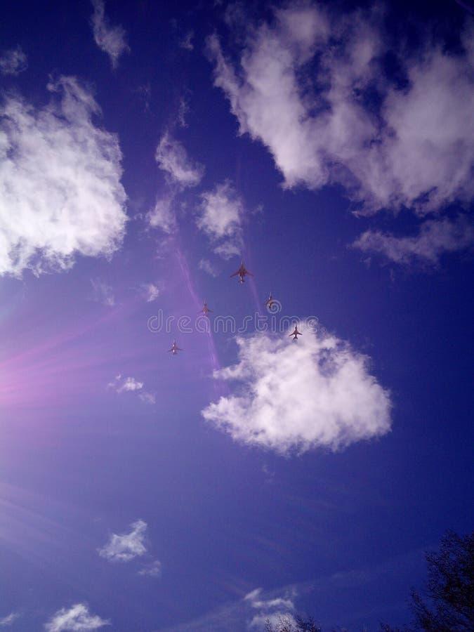 Cielo Blue Air fotos de archivo