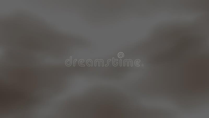Cielo borroso con la niebla del polvo de la nube de humo de la contaminaci?n atmosf?rica para el fondo, problema en el ambiente d ilustración del vector