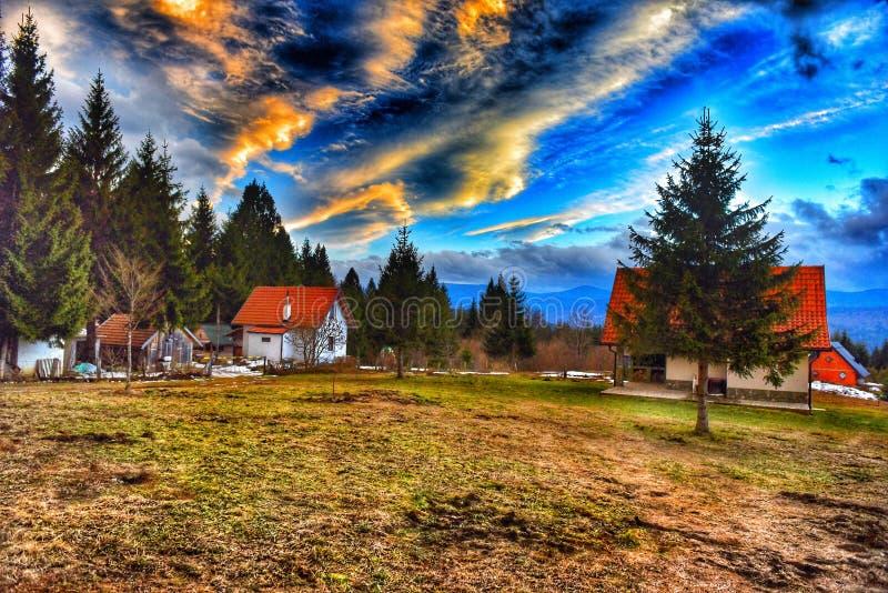 Cielo bosnio fotos de archivo