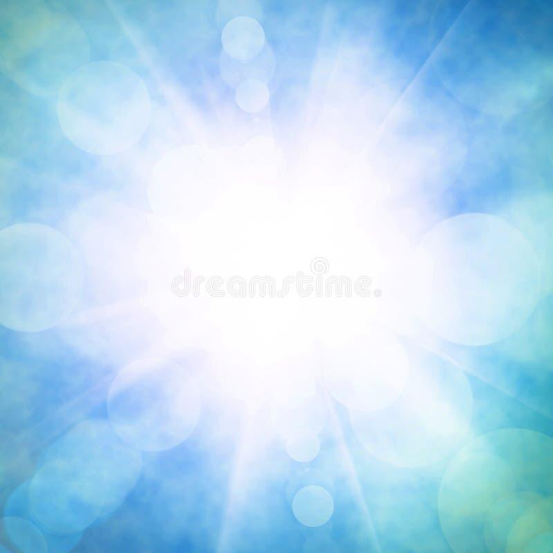 Cielo celestiale fotografie stock libere da diritti