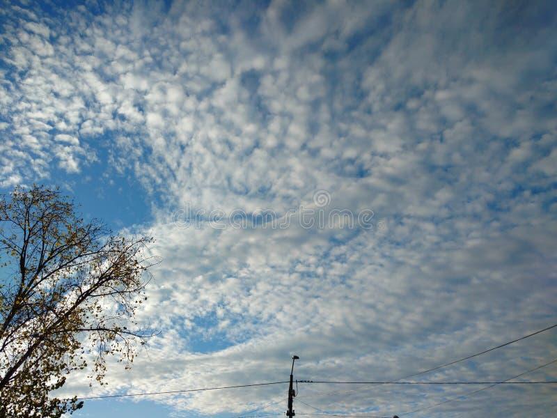 Cielo, cielo imagen de archivo