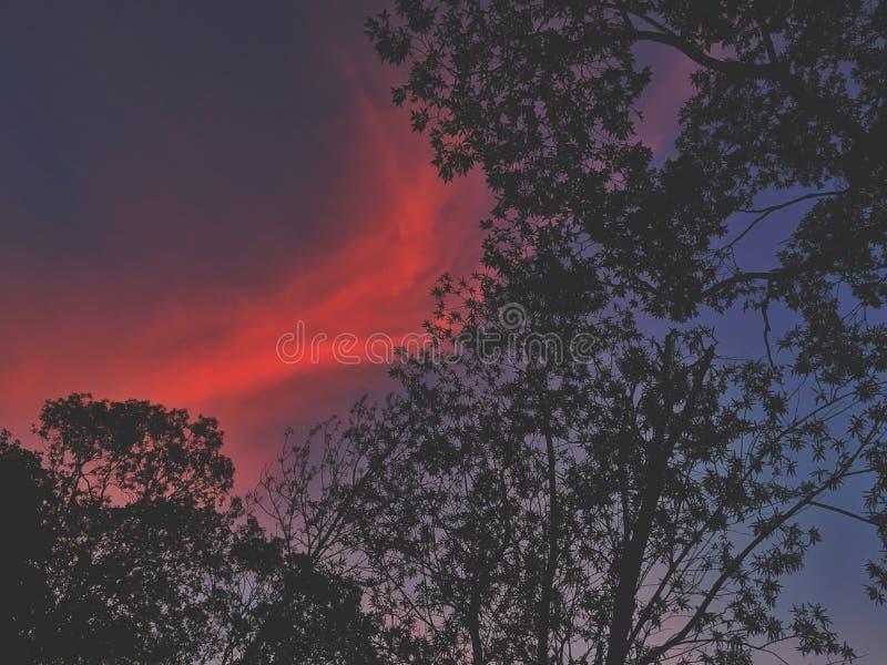 Cielo colorido imágenes de archivo libres de regalías