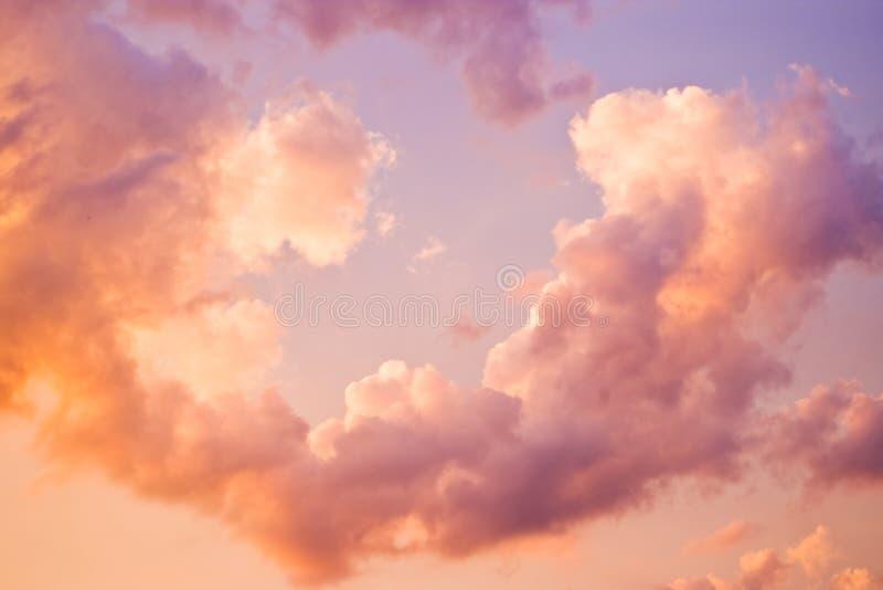 Cielo crepuscolare fotografie stock libere da diritti