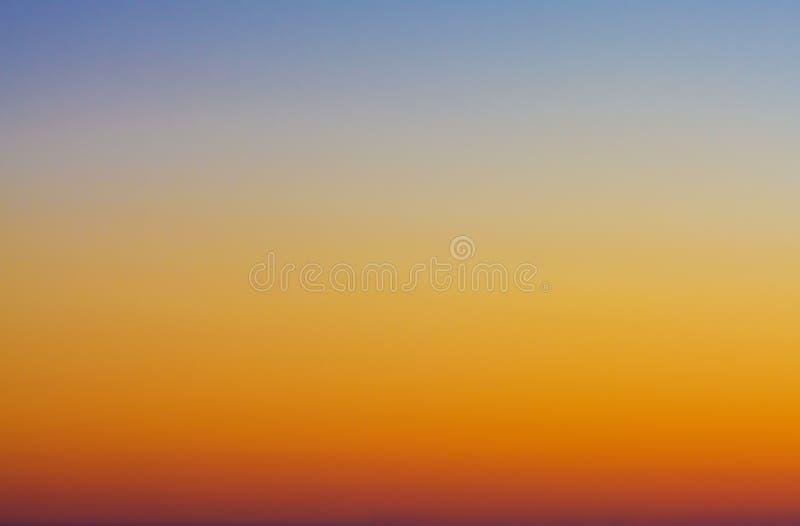 Cielo crepuscular imagen de archivo libre de regalías