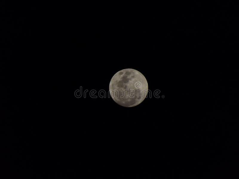 Cielo d'EL d'en de centrada de Luna photos stock