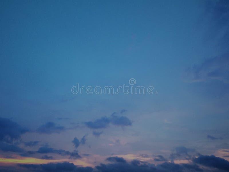 Cielo de caballa, azul salvaje allí a la vista, cielo azul, nube imagen de archivo libre de regalías