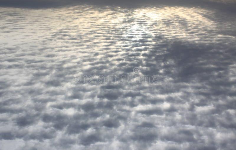 Cielo de caballa hermoso del amanecer imagen de archivo libre de regalías