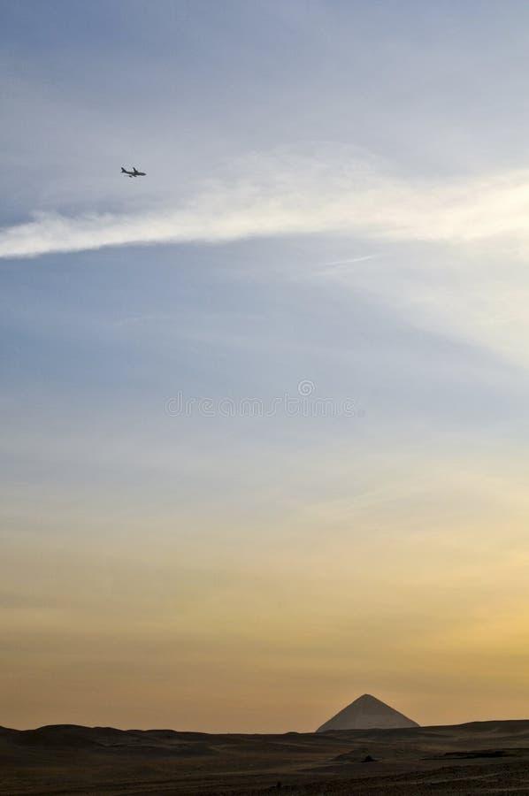 Cielo de Dahshur fotos de archivo libres de regalías