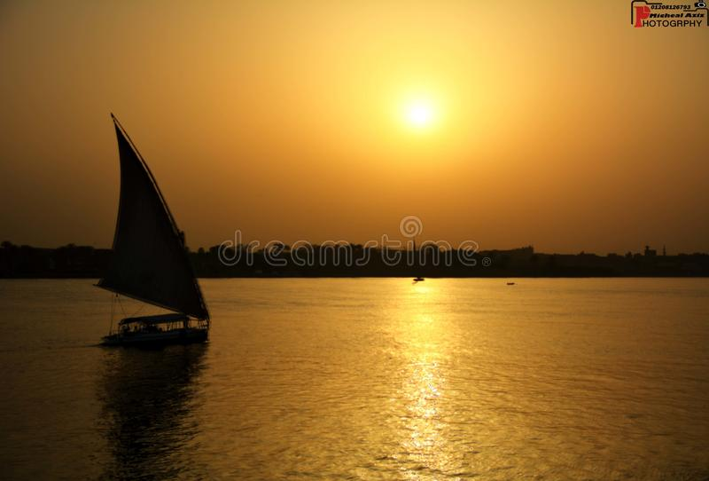Cielo de El Cairo imagen de archivo libre de regalías
