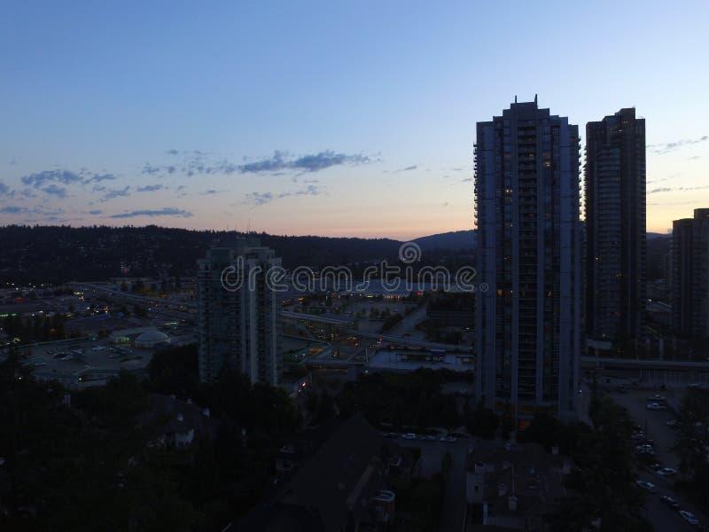 Cielo de la ciudad fotografía de archivo libre de regalías