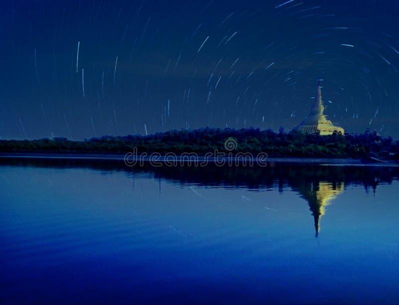 Cielo de la constelación fotos de archivo
