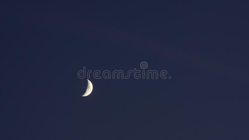 Cielo de la Luna Nueva de Timelapse fotografía de archivo