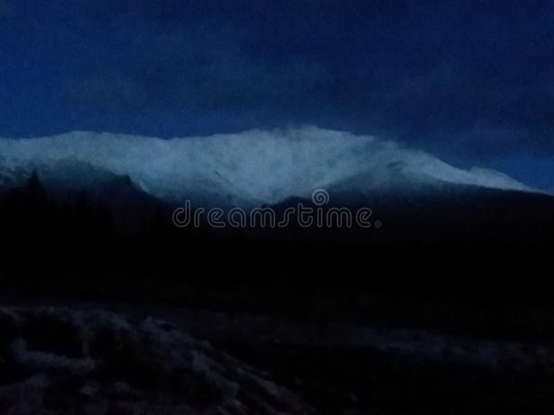 Cielo de la madrugada imagen de archivo libre de regalías
